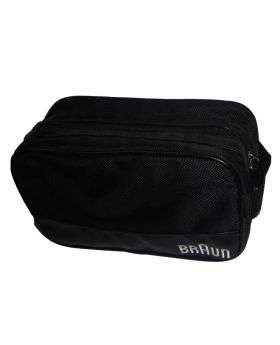 Braun Travel Zip Up Bag Shavers & Accessories