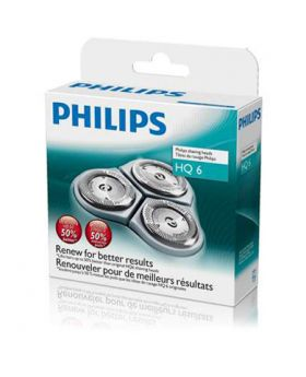 Philips HQ6 Quadra Action Shaver 3x Heads/Bladess/Cutters