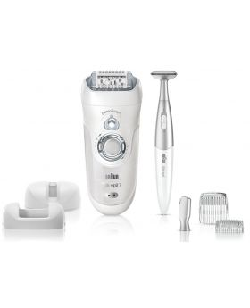 Braun Silk-rpil 7 SensoSmart 7890 Cordless Wet & Dry Epilator Plus Bikini Trimmer