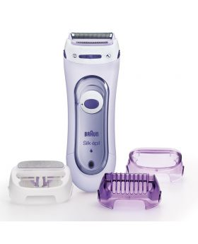 Braun Silk epil LS 5560 Lady Cordless Electric Exfoliation Shaver