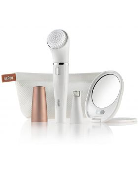 Braun Face 831 Beauty Edition-Epilator And Facial cleansing Brush