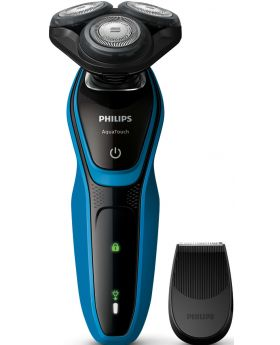 Philips S5050 AquaTouch Cord/Corldess Wet & Dry Electric Shaver/Trimmer