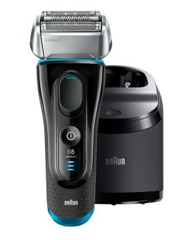 Braun Series 5 5190cc Electric Shaver With Cleaning System
