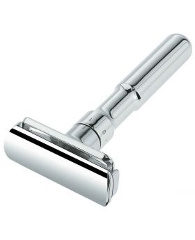 Merkur Futur 701 Adjustable Polished Chrome Double Edge Safety Razor