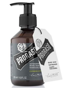 Proraso Beard Shampoo Wash Cypress Vetyver 200ml