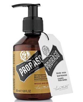Proraso Beard Shampoo Wash Wood & Spice 200ml