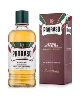 Proraso Nourish Sandalwood Aftershave Liquid Lotion 400ml
