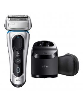 Braun Series 8 8370CC Wet/Dry Electric Shaver With Clean & Charge System