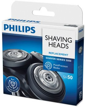 Philips SH50/HQ8 Sensonic Shaver 3x Heads/Blades/Cutters