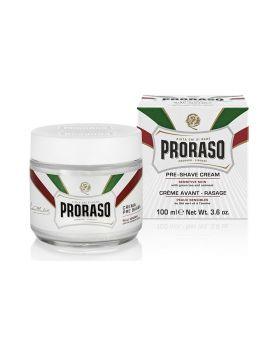 Proraso Pre Shave Cream Green Tea & Oatmeal 100ml