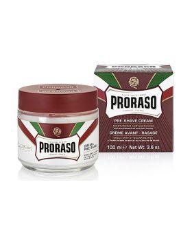 Proraso Pre Shave Cream Nourishing Sandalwood Oil and Shea Butter 100ml