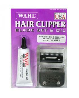 Wahl Precision Replacement Hair Clipper Blades Set & Oil WA2050-500