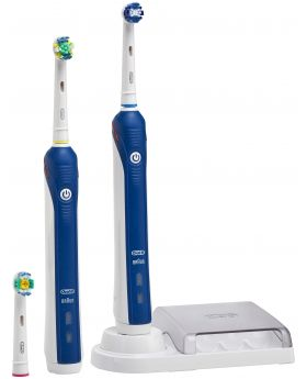 Oral-B PC3000DH ProfessionalCare Dual Handle Electric Toothbrush