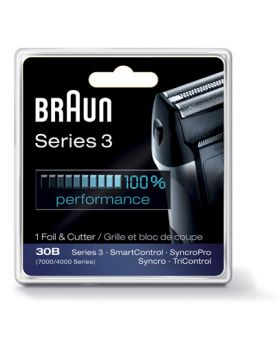 Braun Series 3 30B-7000 / 4000 Syncro Foil and Cutter Block