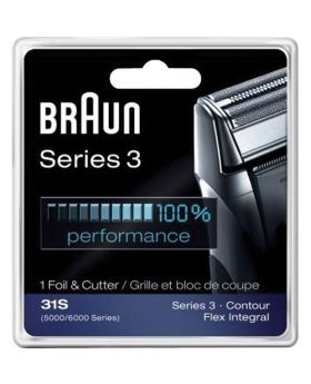 Braun Series 3 31S - 5000/6000 Contour Foil and Cutter Block