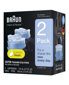 Braun CCR2 Clean & Renew Refill Cartridge - (2x Refill Units)