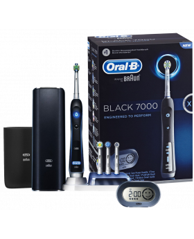Oral-B IQ7000 Triumph With SmartGuide Electric Toothbrush - Black