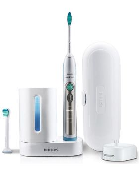 Philips Sonicare FlexCare Rechargeable Sonic Toothbrush with UV Sanitiser - HX9182