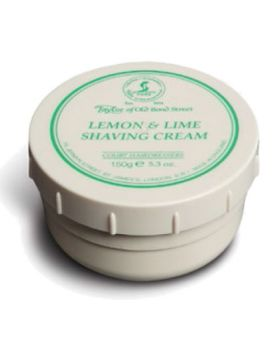 Taylor Of Old Bond Street Lemon & Lime Shaving Cream 150g