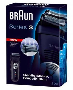 BRAUN SERIES 3 320 MEN'S ELECTRIC SHAVER