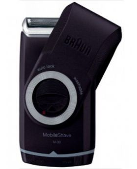 Braun MobileShave M30 Men's Travel Electric Shaver