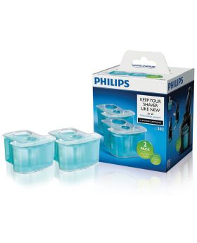 Philips Jet Clean Refill Cartridges JC302 (2x Cartridges)