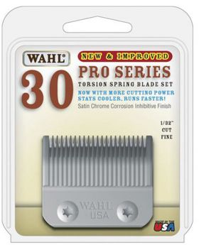Wahl Replacement Blades Set For Pro Series Cord/Cordless Animal Clipper #30 2096-800