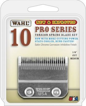 Wahl Pro Series Cord/Cordless Clipper Replacement Blades Set #10 2097-800