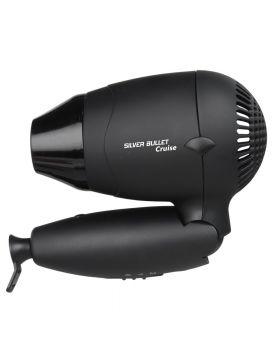 Silver Bullet Worldwide Travel Cruise Hair Dryer (Black)