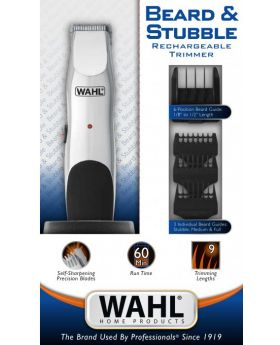 Wahl Beard & Stubble & Moustache Cord/Cordless Rechargeable Trimmer 9918-4212